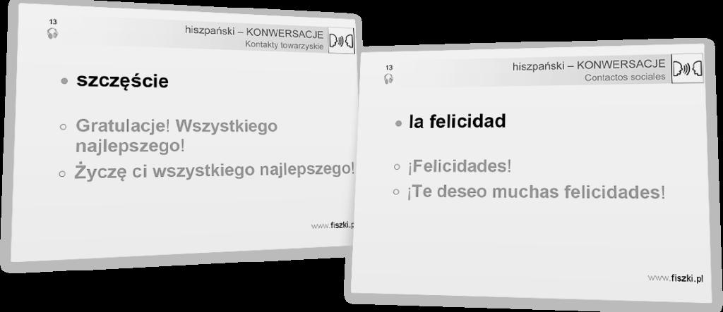 szczęście po hiszpańsku