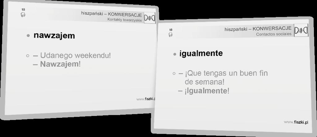 nawzajem po hiszpańsku