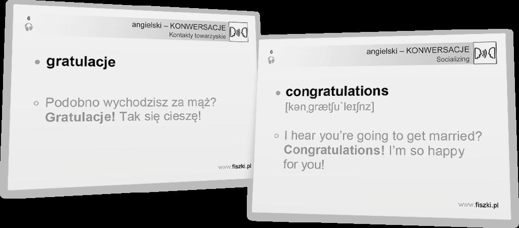 gratulacje po angielsku
