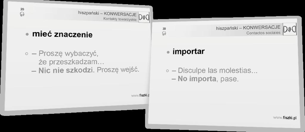nie szkodzi po hiszpańsku