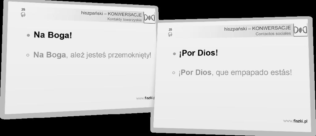 por dios znaczenie