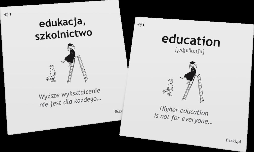 słówka po angielsku edukacja
