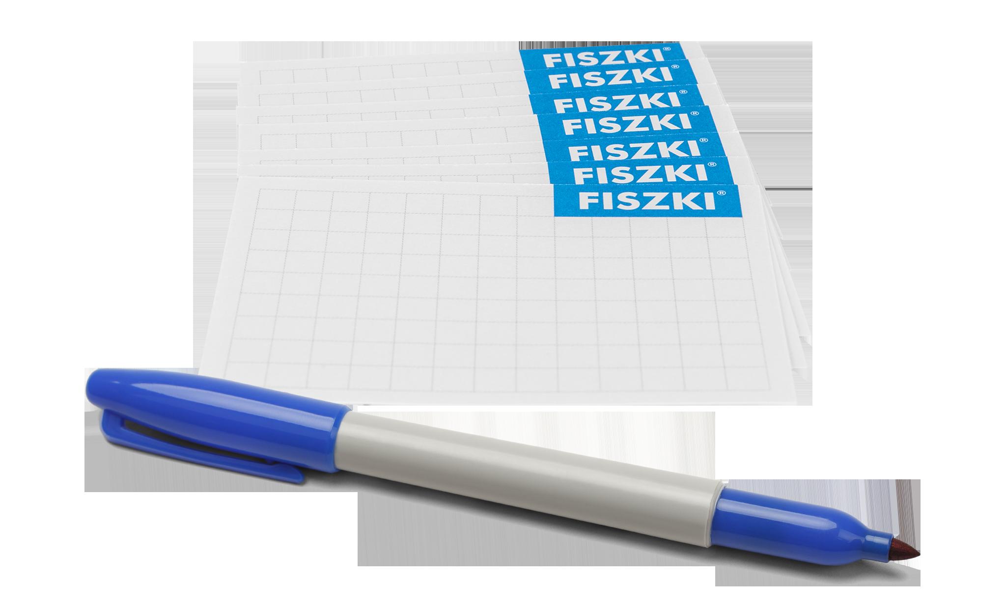 FISZKI in blanco do zapisywania słówek w języku obcym