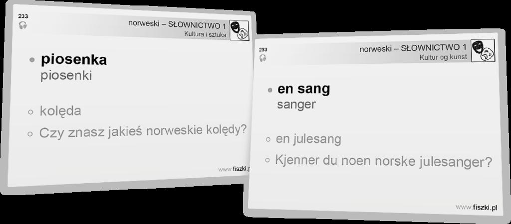 norweski dla początkujących - łóżko