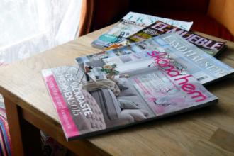 czasopismo po angielsku, niemiecku, hiszpańsku i szwedzku
