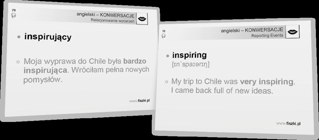 inspirujący po angielsku