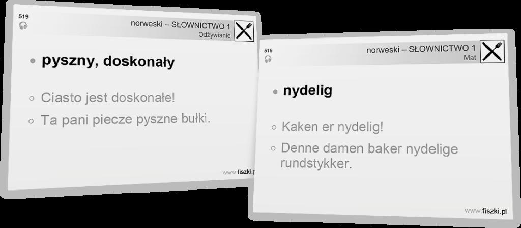 norweski dla początkujących - nydelig