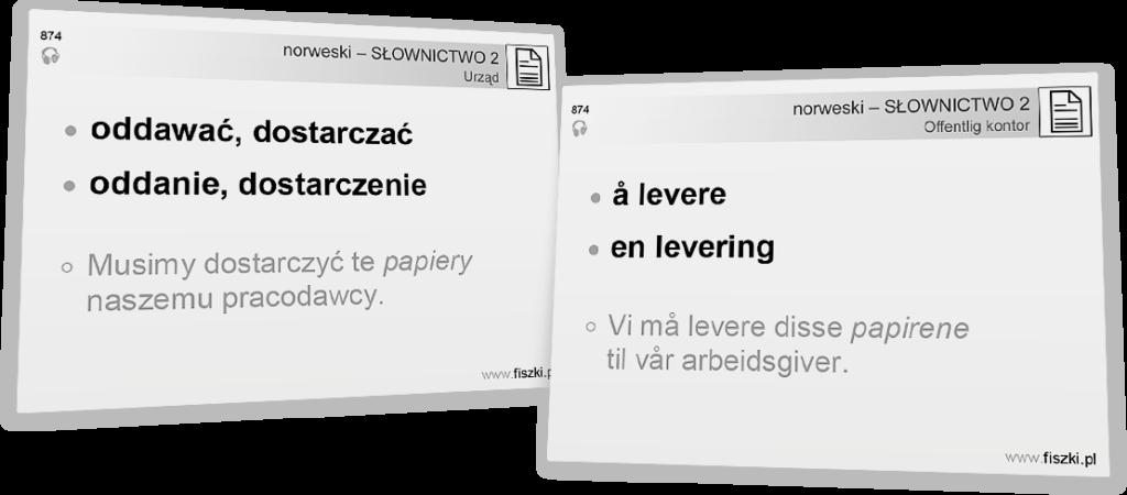 norweski poziom A2