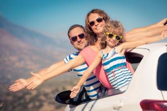 rodzina na wakacjach