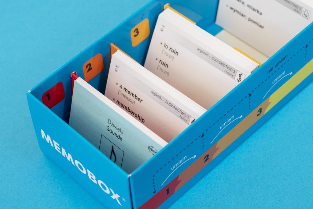 Memobox classic pudełko do nauki