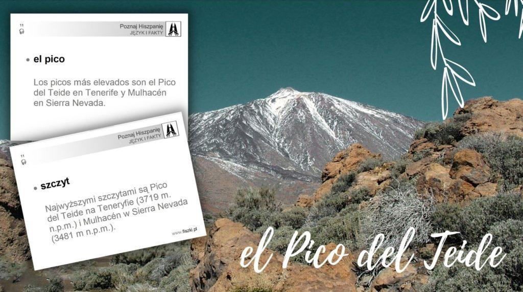 wirtualna wycieczka do Hiszpanii: szczyt