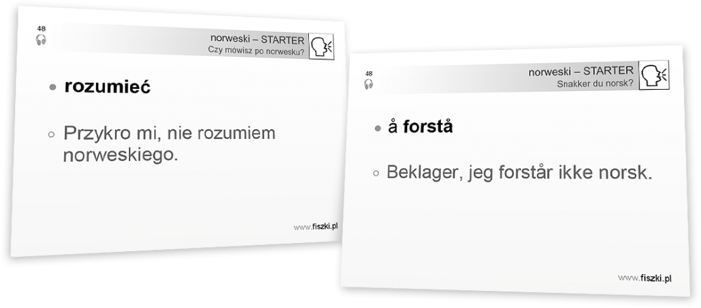rozumieć po norwesku