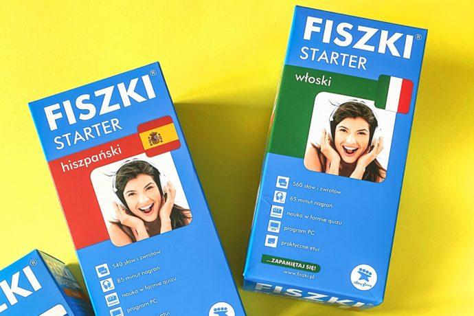 Fiszki starter język włoski i język angielski