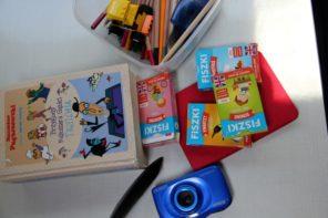 Angielski dla dzieci - FISZKI obrazkowe na stole