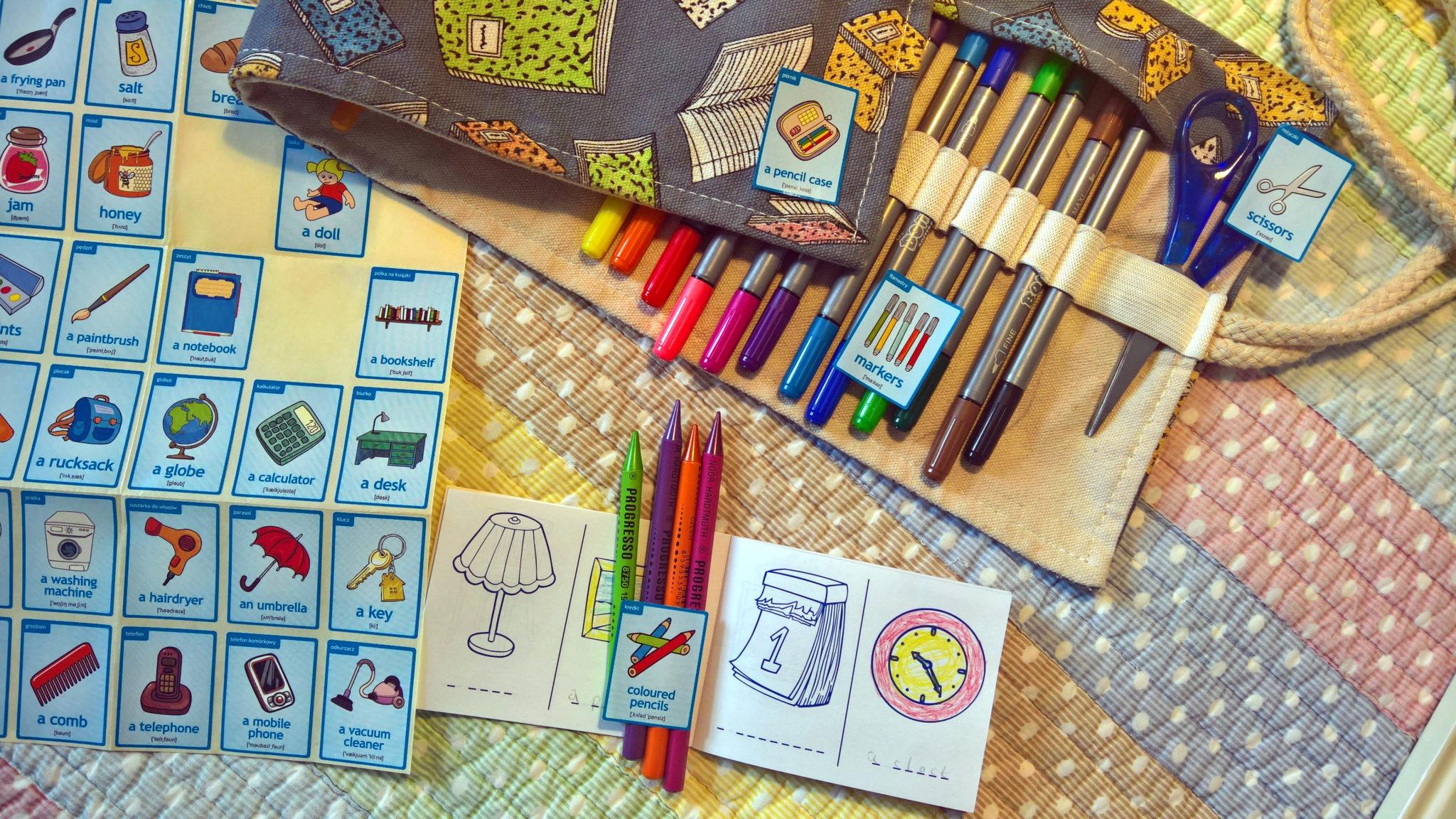 Angielski dla dzieci z naklejkami