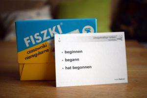 Podstawowe formy czasownika język niemiecki