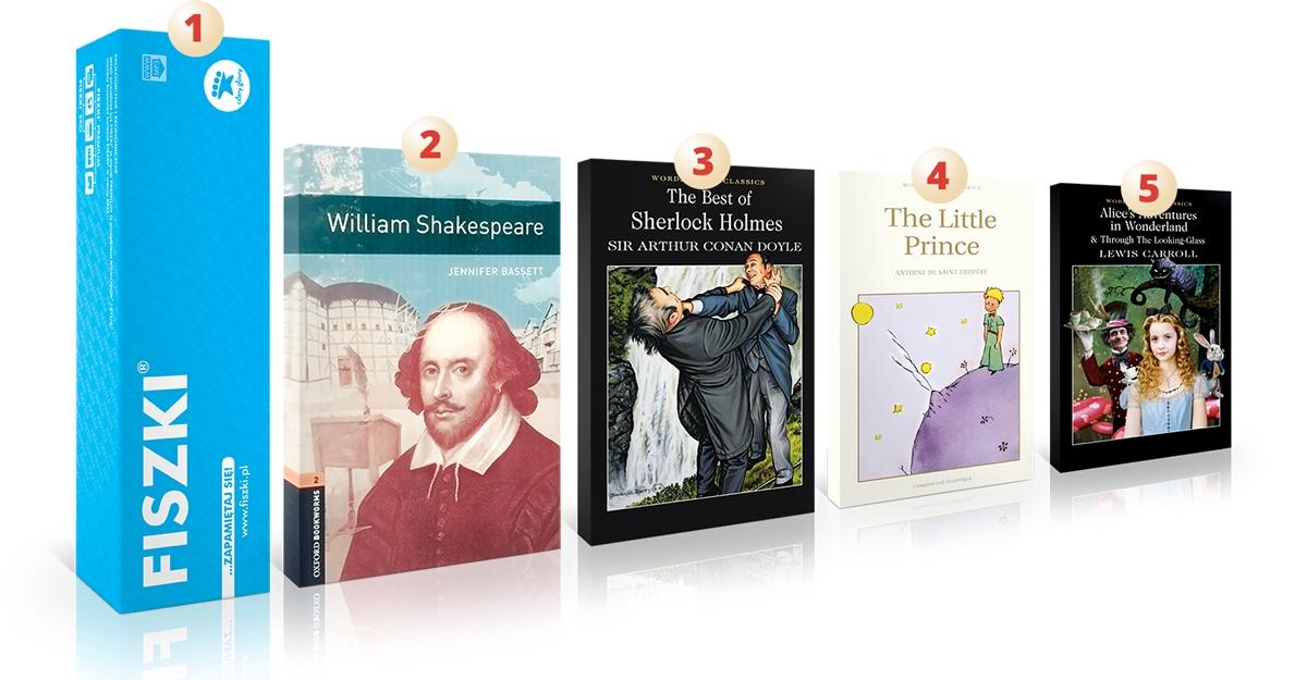 Prezenty na święta Książki po angielsku