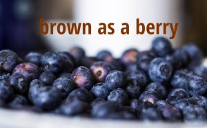 brown as a berry