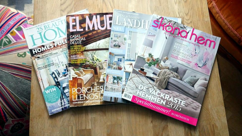 czasopisma w różnych językach obcych