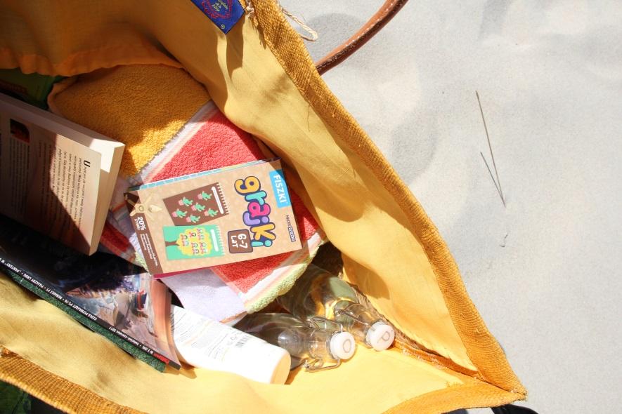 Grajki - zabawy edukacyjne w torbie plażowej