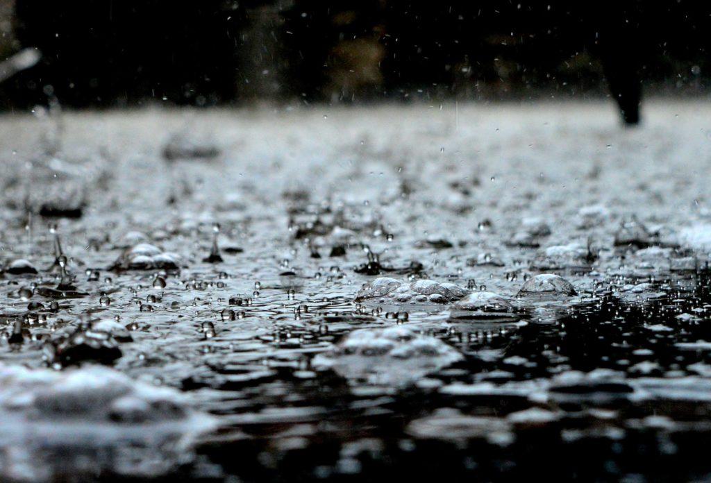 deszcz po angielsku