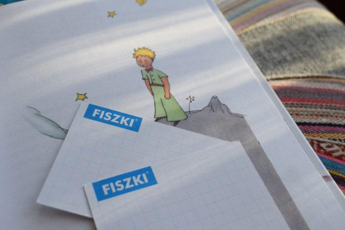 skuteczna metoda nauki języka - książki i fiszki