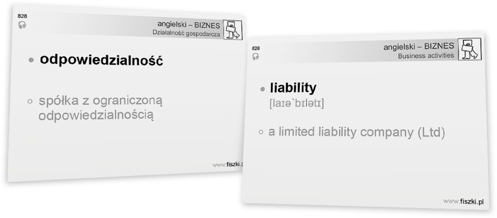 Business English pdf liability
