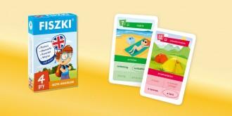 FISZKI dla dzieci angielski 4 gry