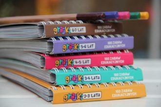 Grajki - książeczki z zabawami edukacyjnymi dla przedszkolaków
