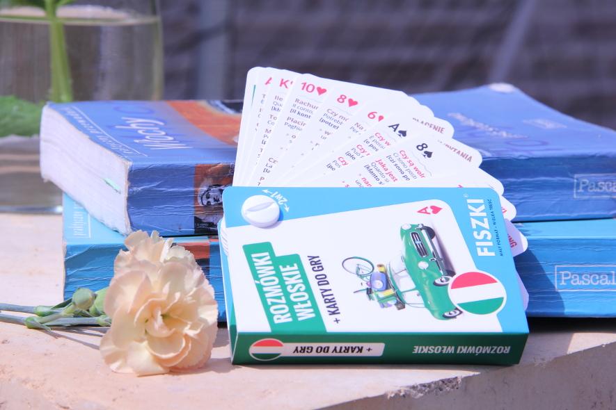 Rozmówki włoskie na kartach do gry