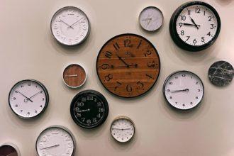 Zegary jako przedstawienie obrazowe czasy angielskie