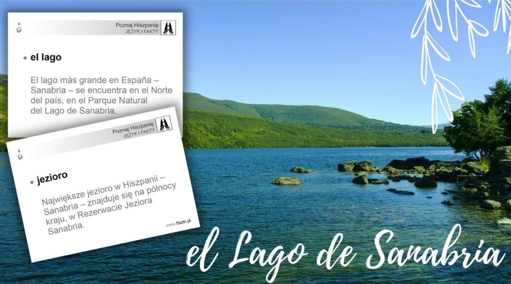 wirtualna wycieczka do Hiszpanii: jezioro