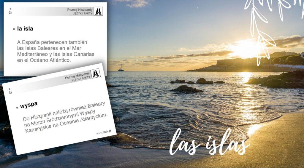 wirtualna wycieczka do Hiszpanii: wyspa