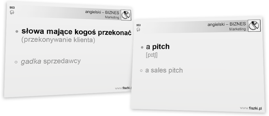 Business English pitch