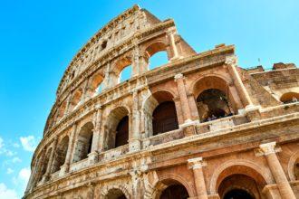 Włochy - Rzym, koloseum