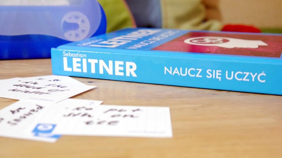 """książka """"Naucz się uczyć"""" S. Leitnera"""