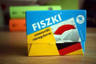 niemieckie czasowniki nieregularne na fiszkach