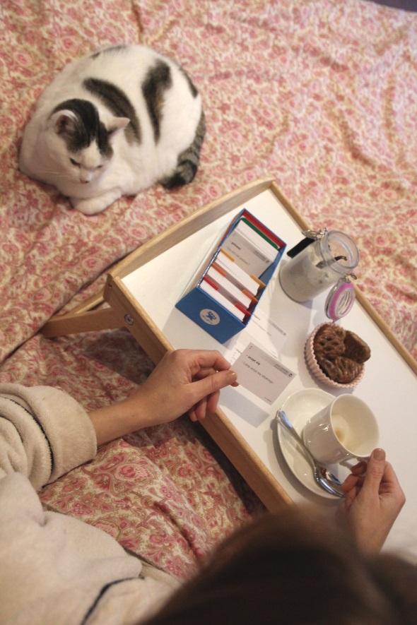poranek-z-fiszkami i z kotem