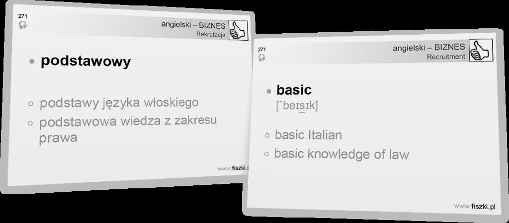 Angielski biznesowy podstaowa wiedza