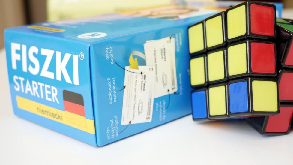 FISZKI - Starter niemiecki i kostka Rubika