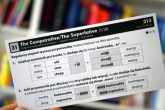 stopniowanie przymiotników angielski