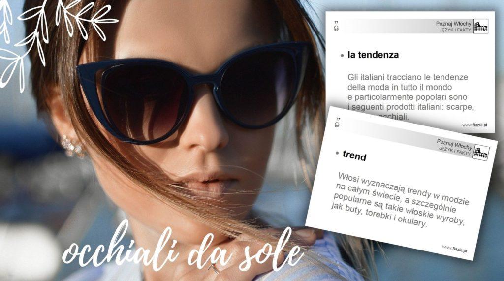 Fiszka język włoski: trend - la tendenza