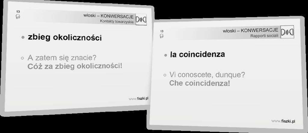 konwersacje włoski