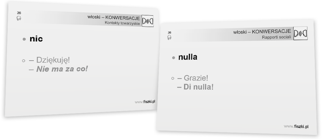 włoskie konwersacje