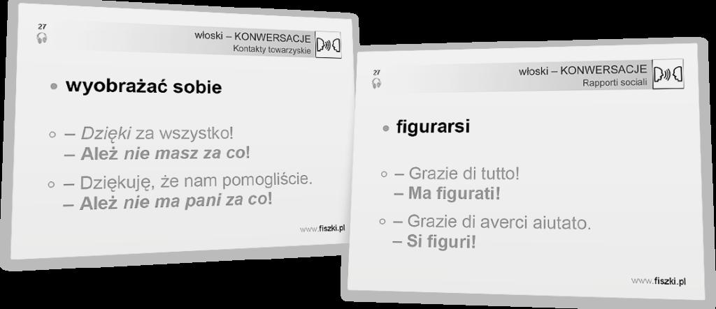 podstawowe zwroty po włosku