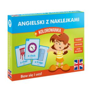 Angielski z naklejkami dla dzieci