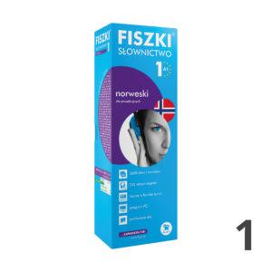Fiszki SŁOWNICTWO 1 do nauki jezyka norweskiego