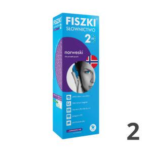 Fiszki SŁOWNICTWO 2 do nauki języka norweskiego