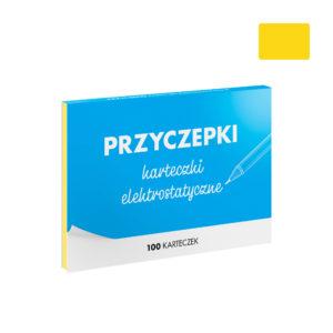 PRZYCZEPKI - żółte karteczki elektrostatyczne