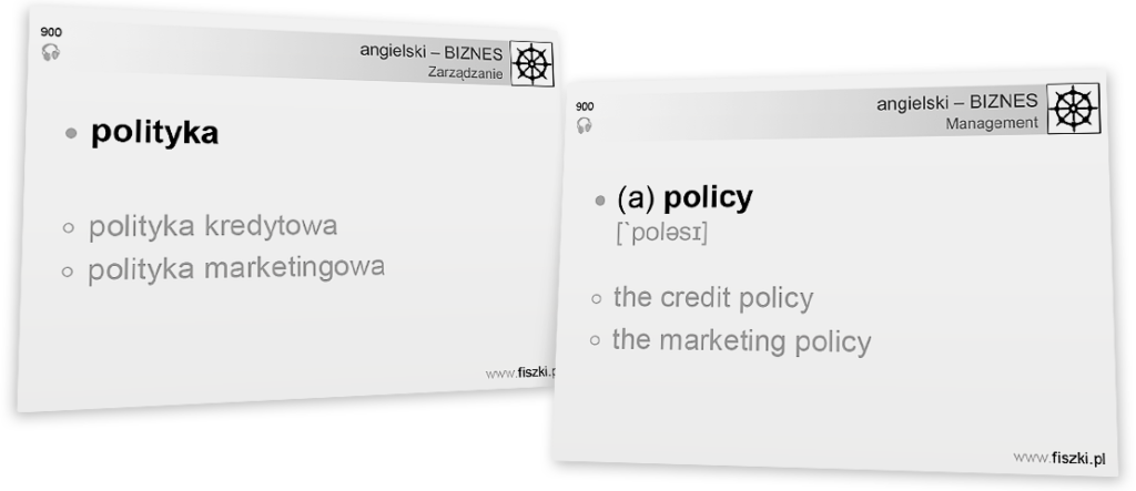 Business English polityka